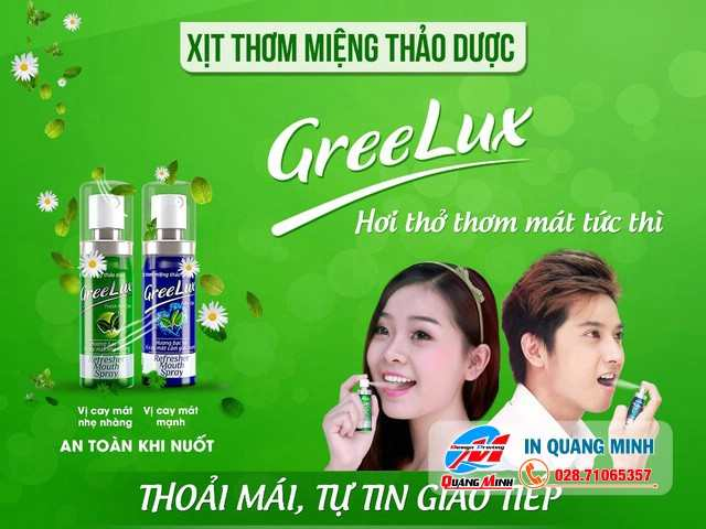 In Poster Quảng Cáo